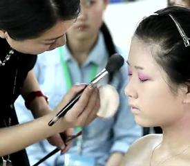 良径艺术学校时尚彩妆教程视频