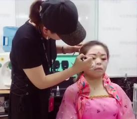 良径艺术学校唐装造型视频