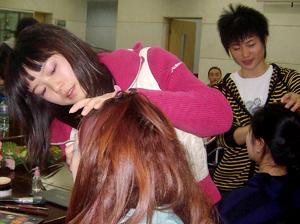 第一届北京音乐研修学院化妆造型设计