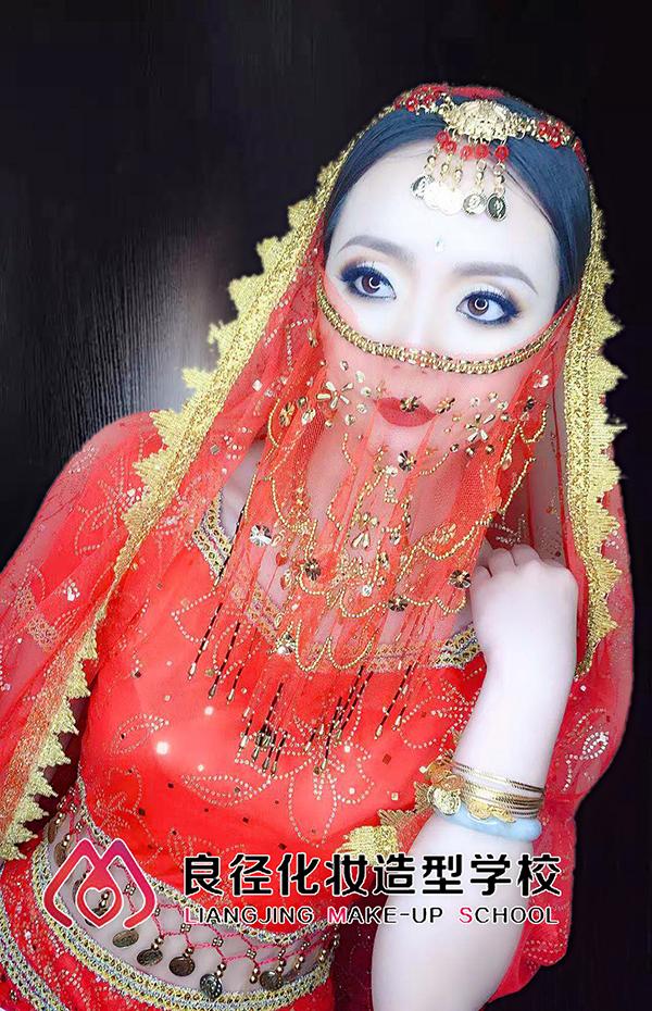 印度妆作品