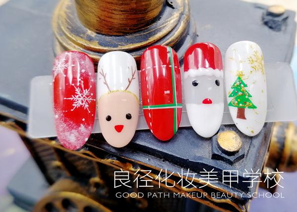 北京良径化妆造型学校 美甲作品