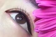 良径纹绣课堂 美瞳线不同针片操作优缺点