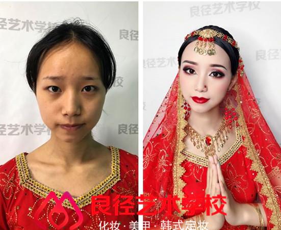 北京学彩妆去通州哪家学校好