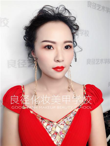 北京良径化妆造型学校 彩妆作品