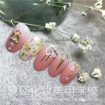 北京良径化妆造型学校 日系美甲作品