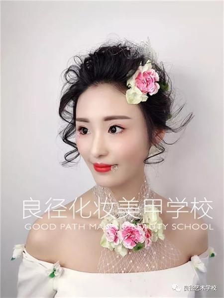 北京良径化妆造型学校 新娘妆作品