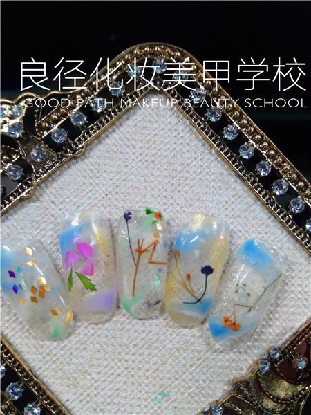 北京良径化妆造型学校 美甲作品2