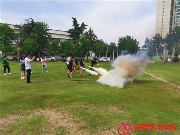 北京良径艺术学校 消防培训2