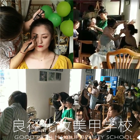 良径化妆造型学校参加圣露国际庄园七夕派对实习2