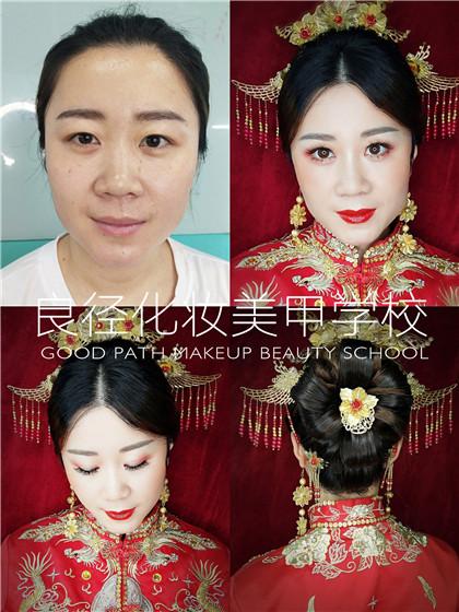 北京亚博app苹果版下载亚博体育官网软件下载造型学校 妆前妆后对比1
