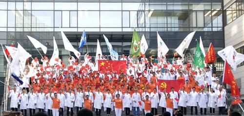 北京良径化妆造型 学员外出实习活动