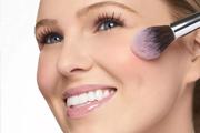 腮红字母画法,针对三种常见脸型画出上镜脸
