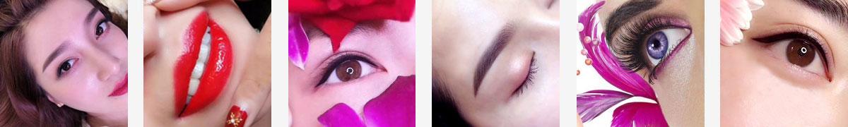 北京良径化妆造型学校 韩式定妆课程