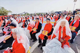 第七届金婚夫妇凤凰岭公益活动实习