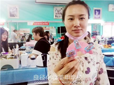 北京良径化妆造型学校 学员美甲作品
