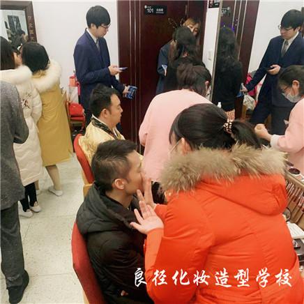 北京良径化妆造型学校 学员化妆实习988+