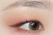 单眼皮画眼线怎么避免黑粗宽