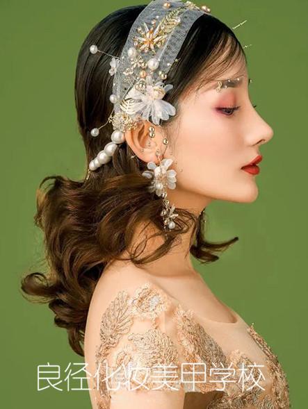 北京良径化妆培训学校 新娘妆作品