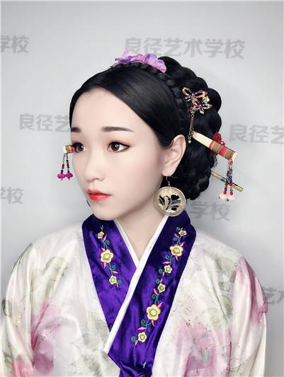 北京良径化妆学校 韩妆作品