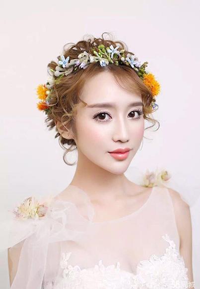 北京良径化妆学校 新娘妆作品