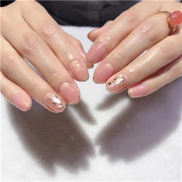 椭圆形指甲1