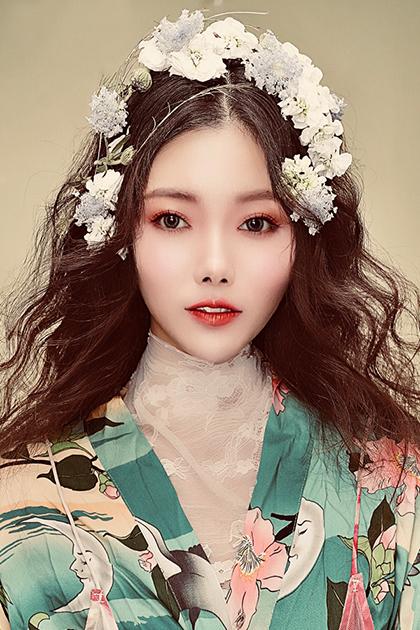北京良径化妆培训 新娘妆作品