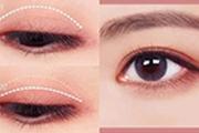 空气感眼妆矫正下垂眼型与肿泡眼,这样画美美哒~