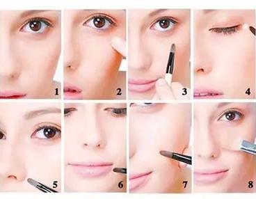 八步化妆方法让痘印眼袋和斑斑统统退去