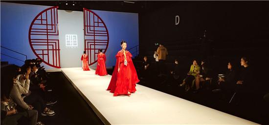 良径学员参加中国国际时装周之羋白品牌童装实践活动1