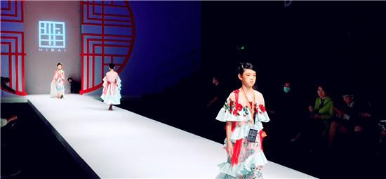 良径学员参加中国国际时装周之羋白品牌童装实践活动2