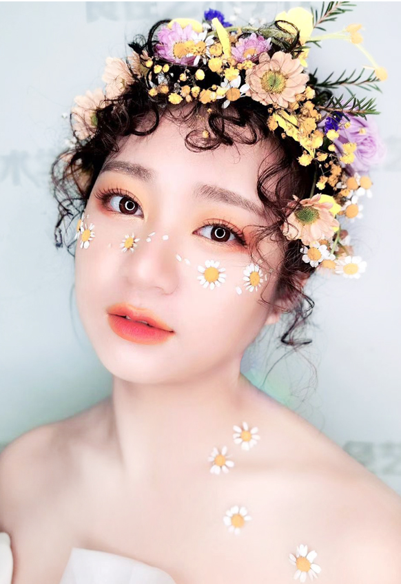 梦幻森系鲜花造型