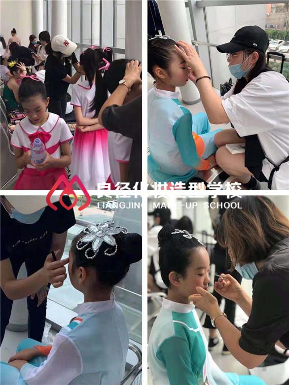 良径学子北京电视台实习照片1