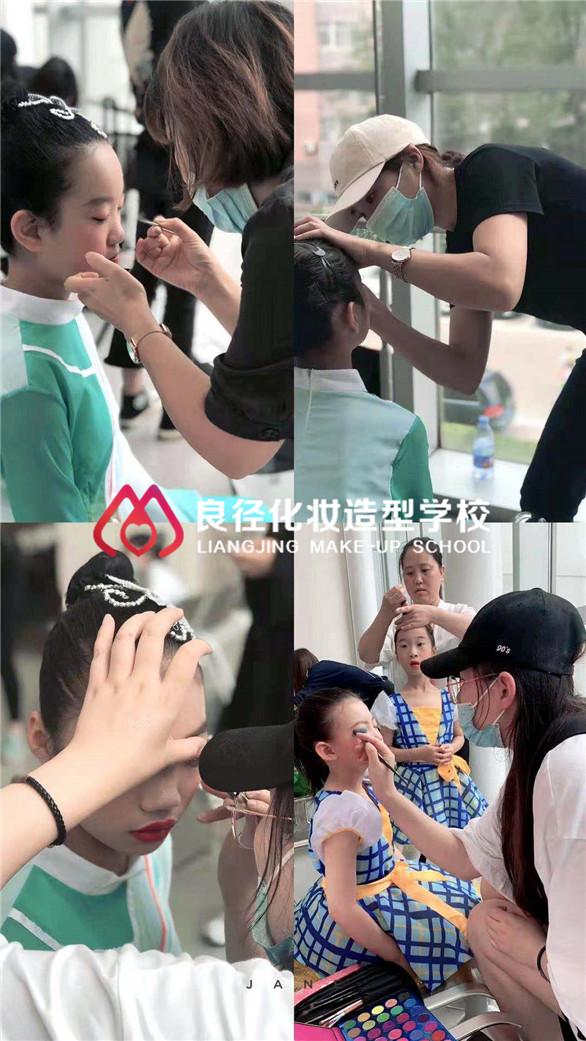 良径学子北京电视台实习照片2