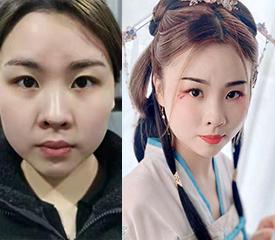 北京化妆学校古风汉服造型化妆課堂 良径化妆学校