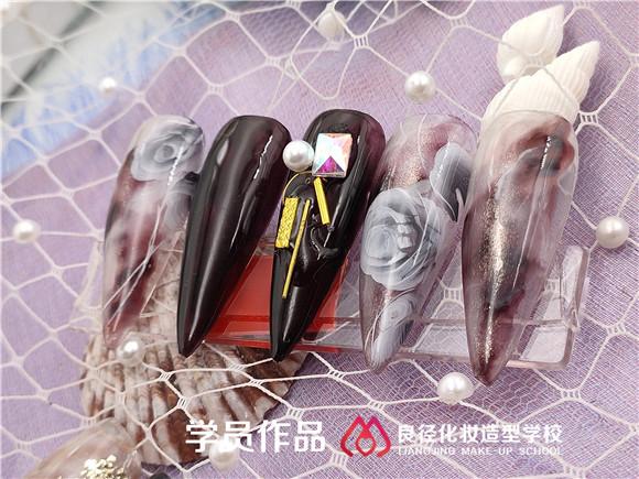北京正规的美甲学校学员作品  良径美甲学校学员作品3