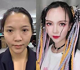 学化妆美甲培训机构影楼个人写真课堂 良径化妆学校